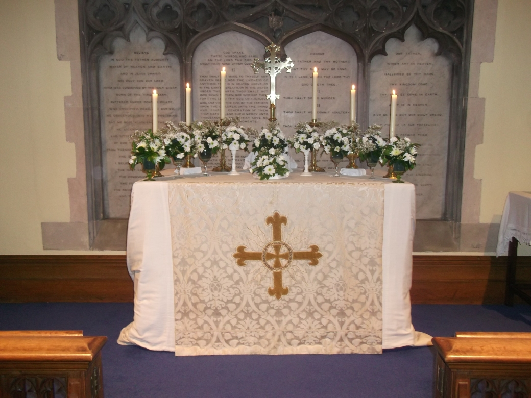 The Altar at St Michael & All Angels, Thurmaston