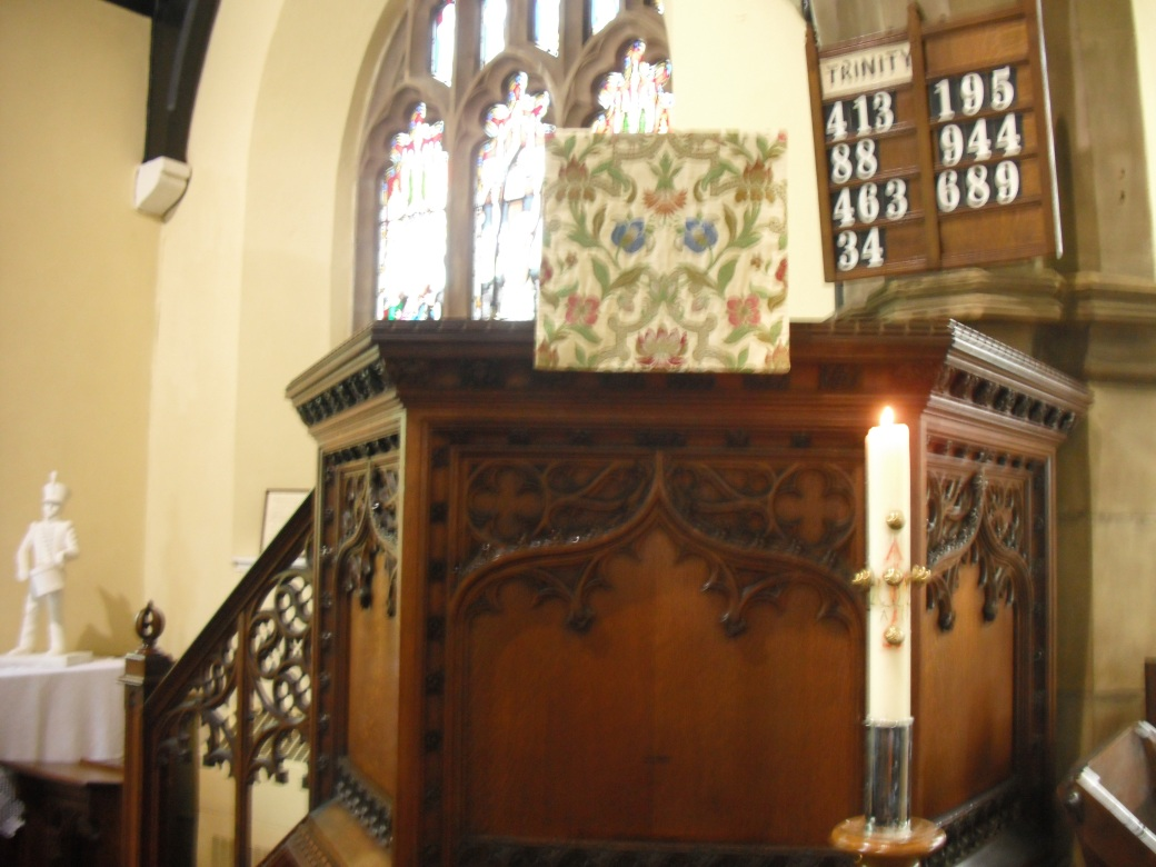 The Pulpit at St Michael & All Angels, Thurmaston