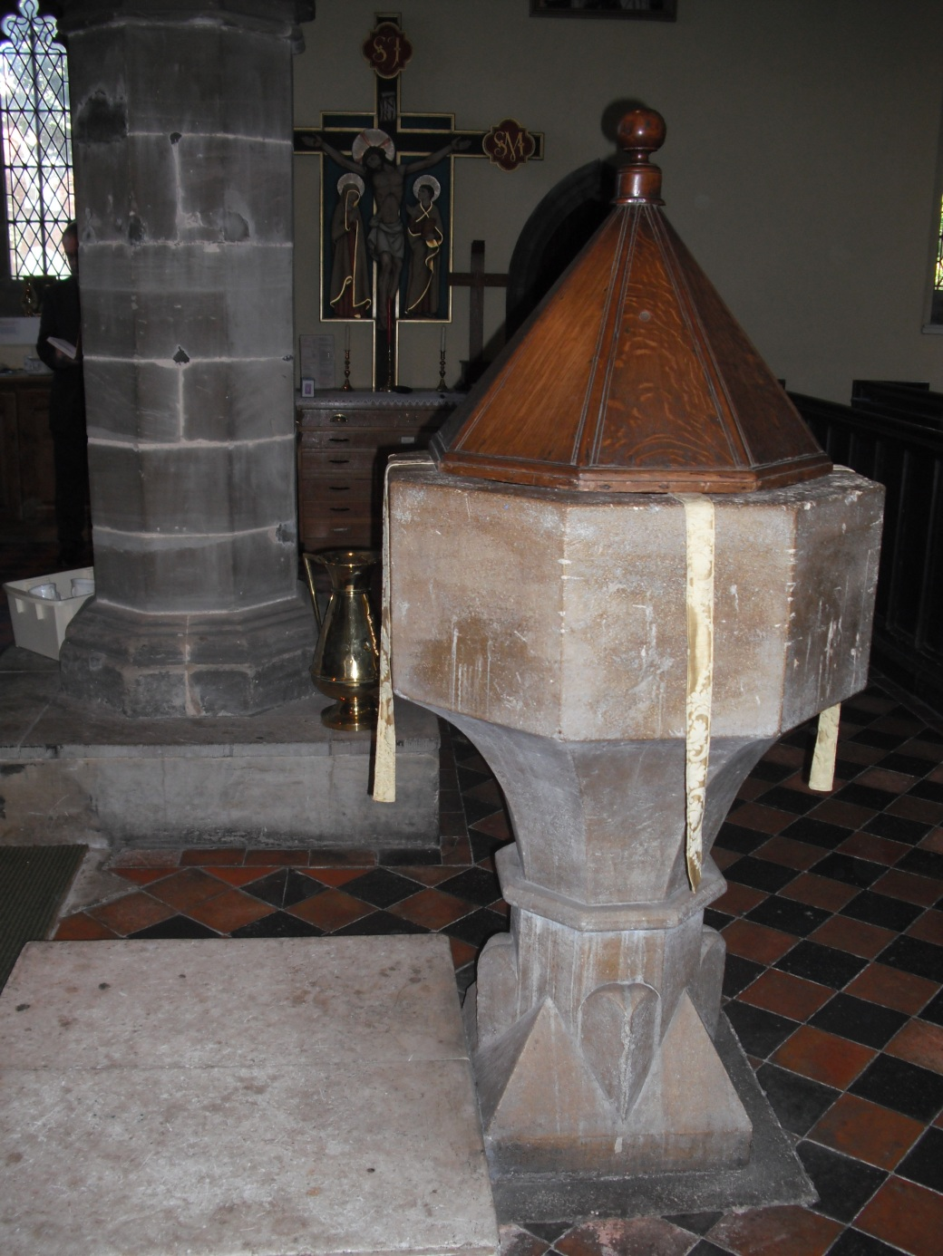 The Font at St Michael & All Angels, Thurmaston