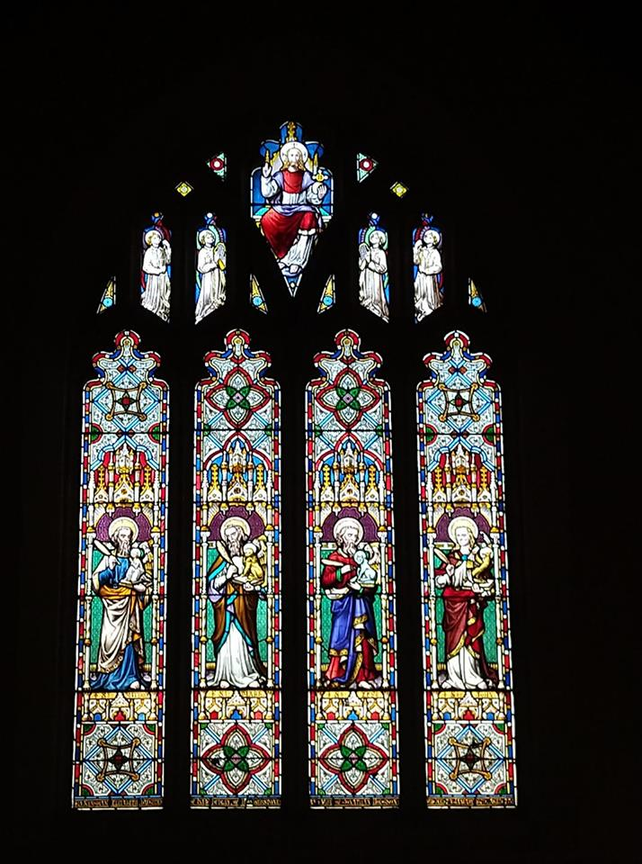 East window at St Michael & All Angels, Thurmaston