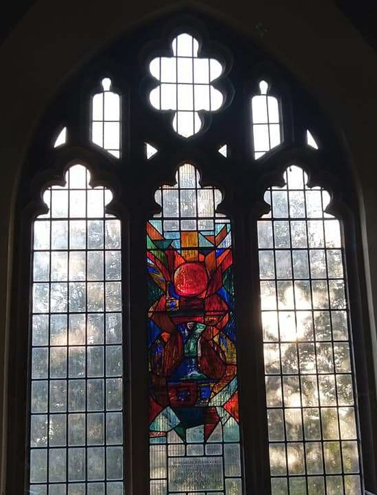 South Aisle West window at St Michael & All Angels, Thurmaston